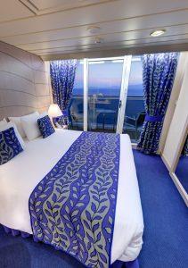 cabina con balcone