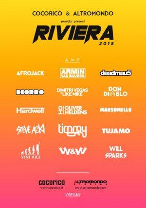 Ticket Combo Riviera Cocorico + Altromondo