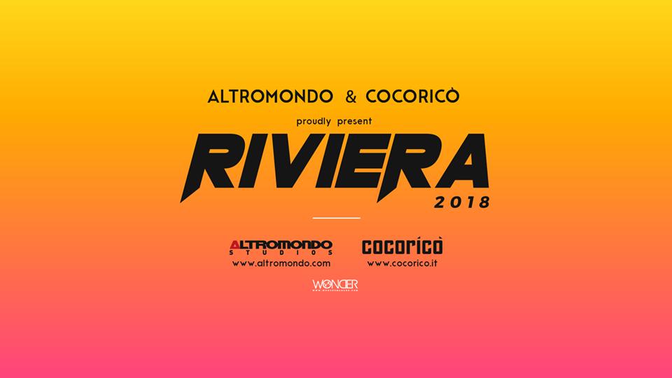 ESTATE 2018 IN RIVIERA, COCORICO E ALTROMONDO LA TOCCANO PIANO