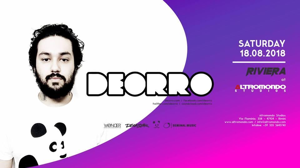 ALTROMONDO | Riviera w/ Deorro | 18 Agosto 2018