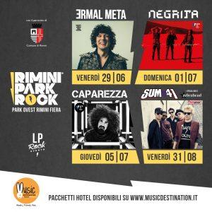 Rimini Park Rock – Pacchetti Hotel + Ticket