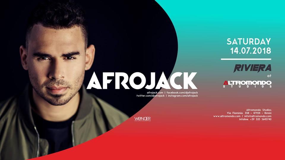 ALTROMONDO | Riviera w/ Afrojack  | 14 Luglio 2018