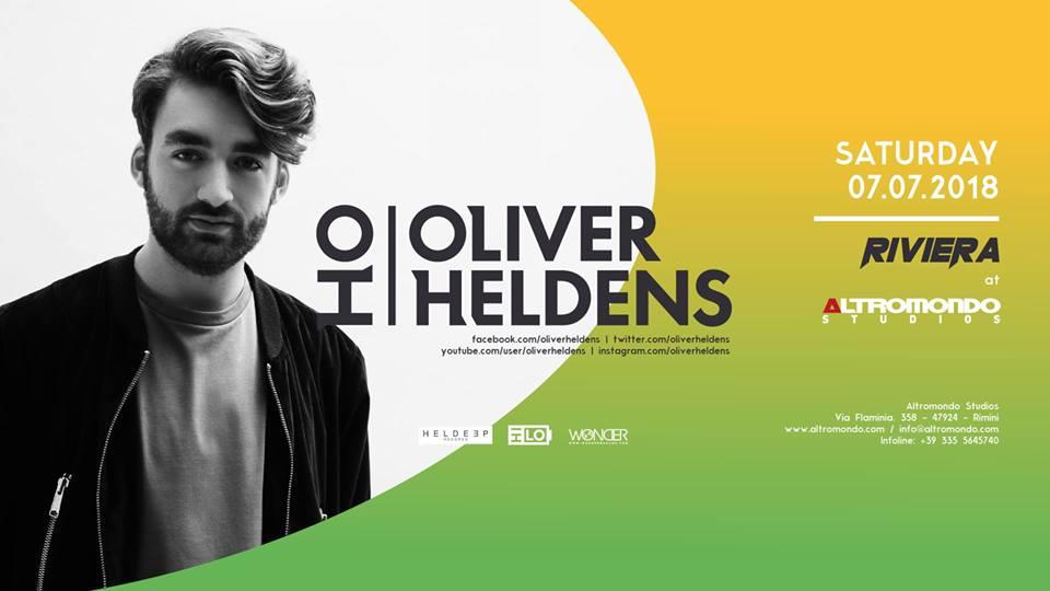 ALTROMONDO | Riviera w/ Oliver Heldens  | 07 Luglio 2018