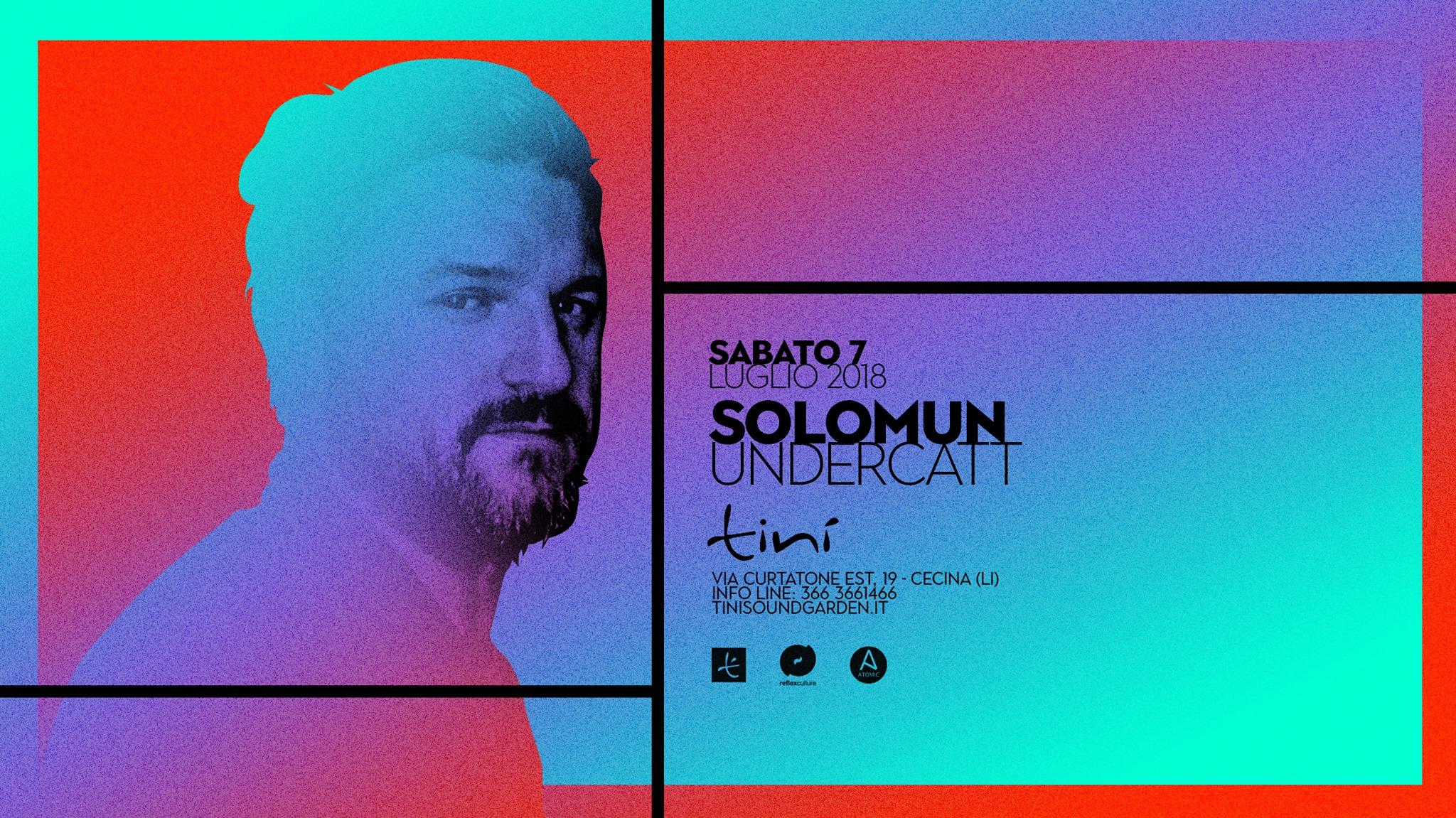 Solomun – Tinì Soundgarden – Cecina – 07 Luglio 2018