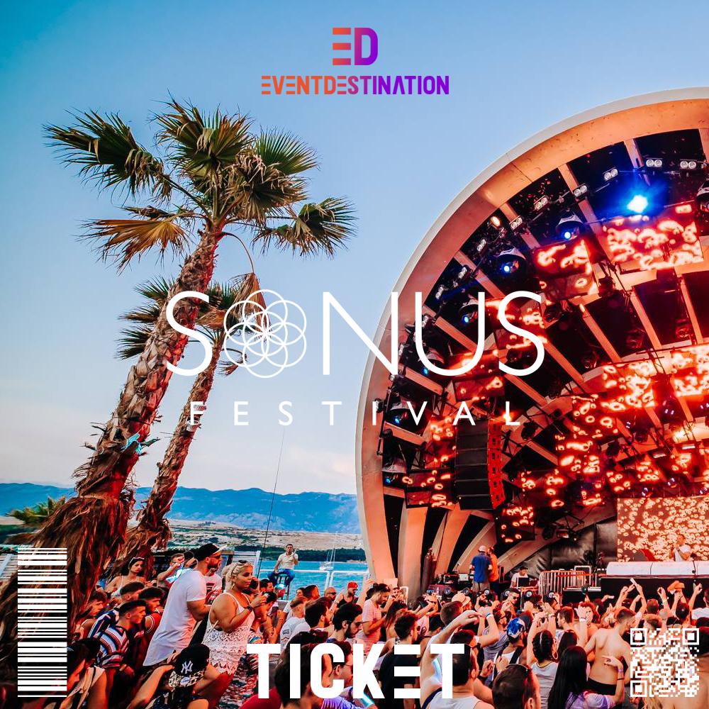 ticket sonus festival croazia