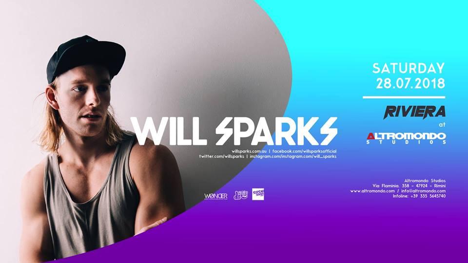 ALTROMONDO | Riviera w/ Will Sparks  | 28 Luglio 2018
