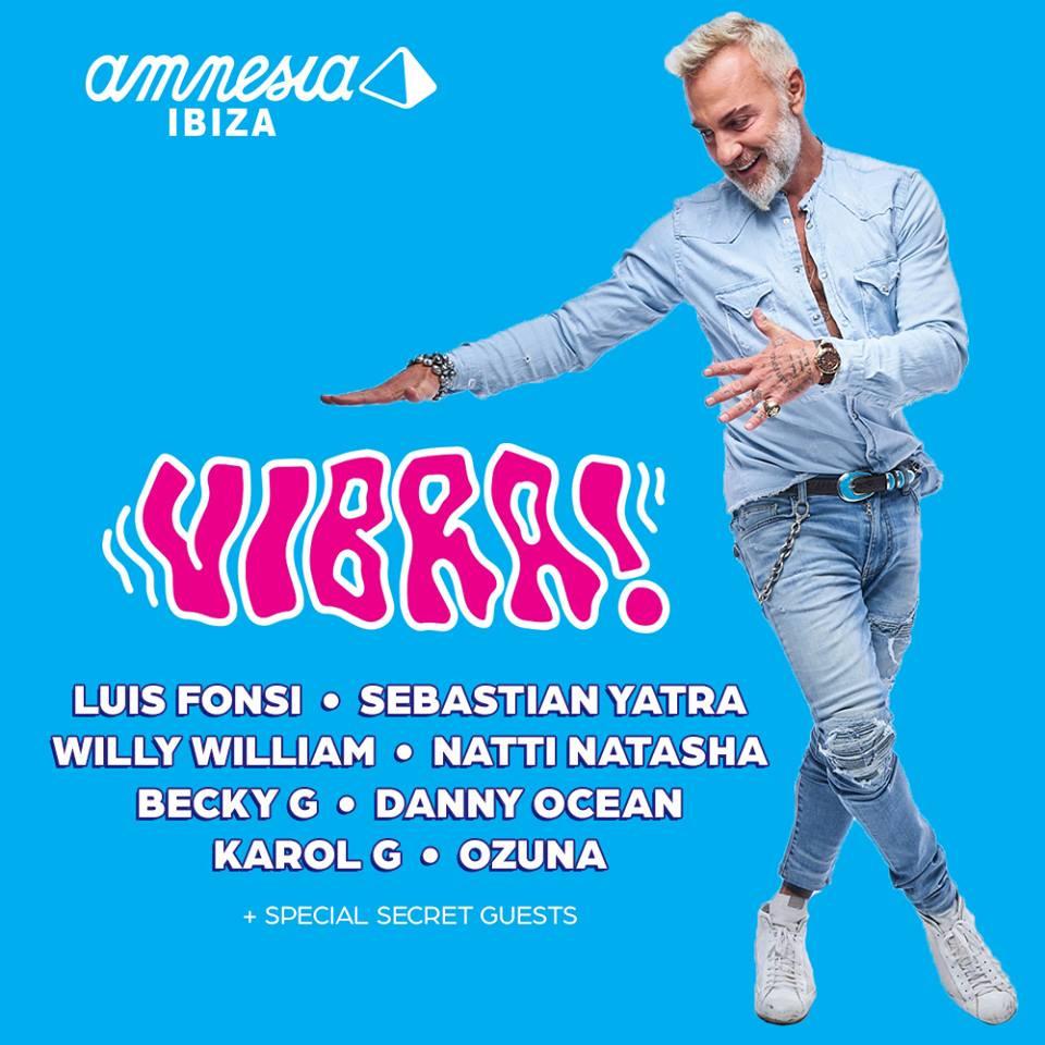 Amnesia Ibiza – Vibra! -#Summer2018 con Gianluca Vacchi
