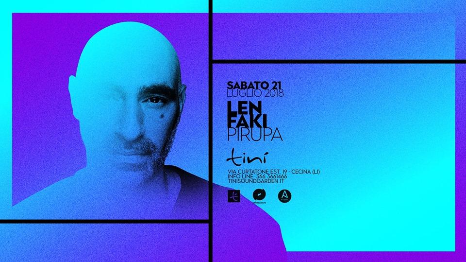 Len Faki – Tinì Soundgarden – Cecina – 21 Luglio 2018