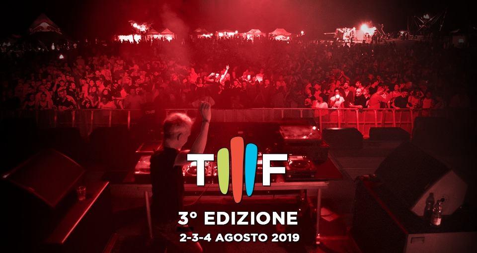 Tiberio Music Festival 2019 Rimini 2-4 Agosto
