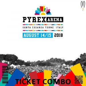 Ticket Pyrex Arena Combo 2019