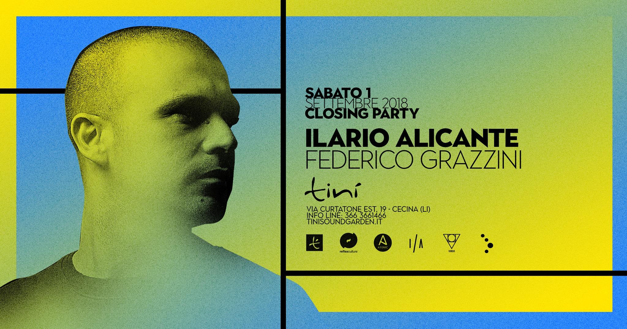 Ilario Alicante | Federico Grazzini at Tinì – 1 Settembre 2018