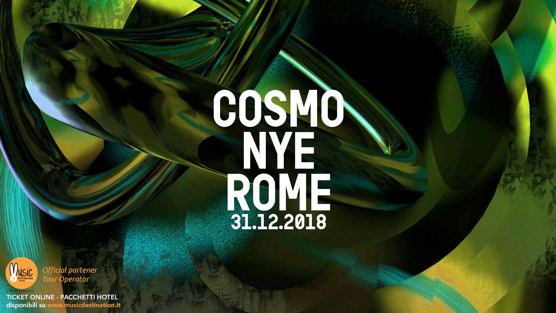 cosmo festival capodanno 2019 roma 31 dicembre 2018