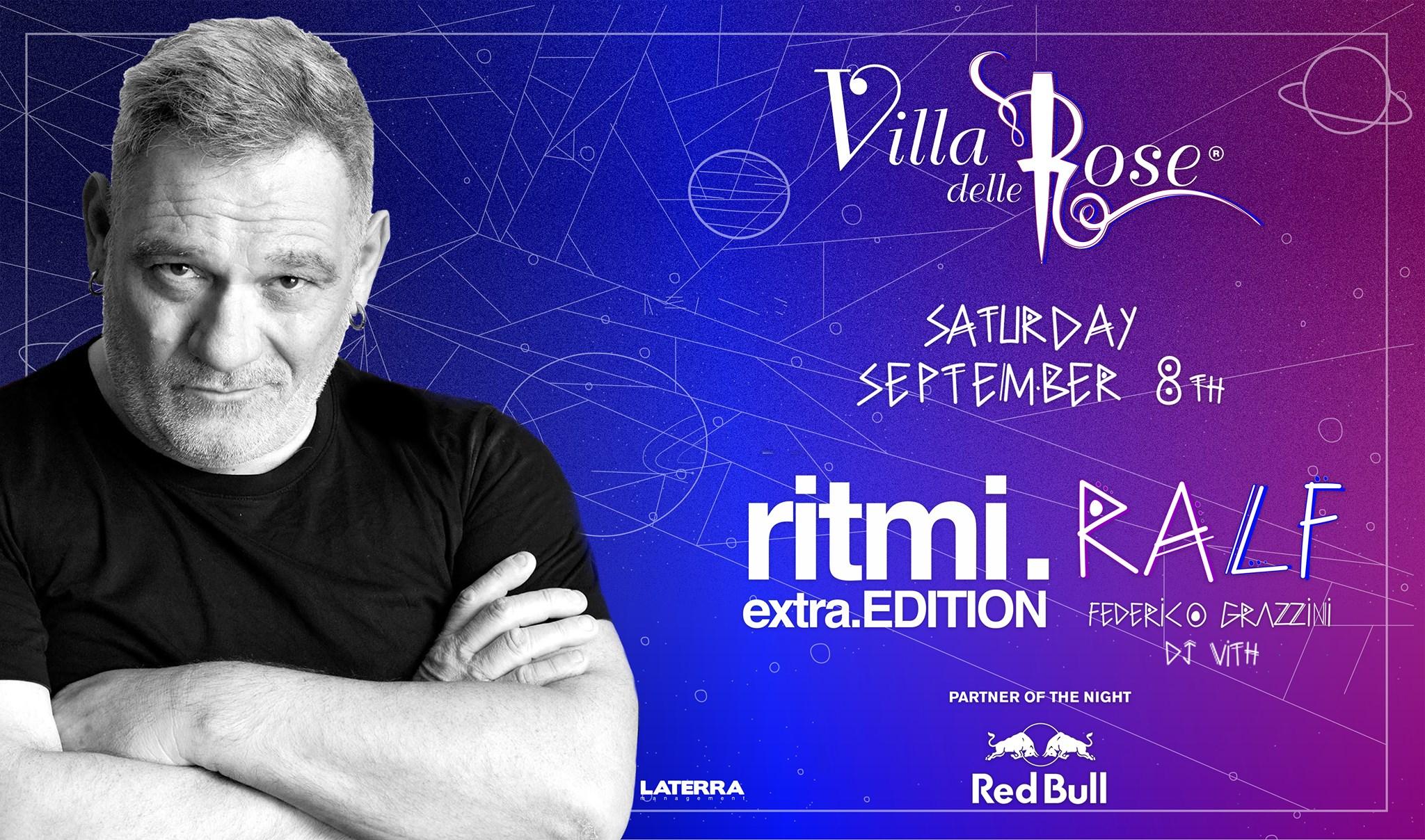 Ritmi Extra Edition – DJ RALF – 8 Settembre 2018