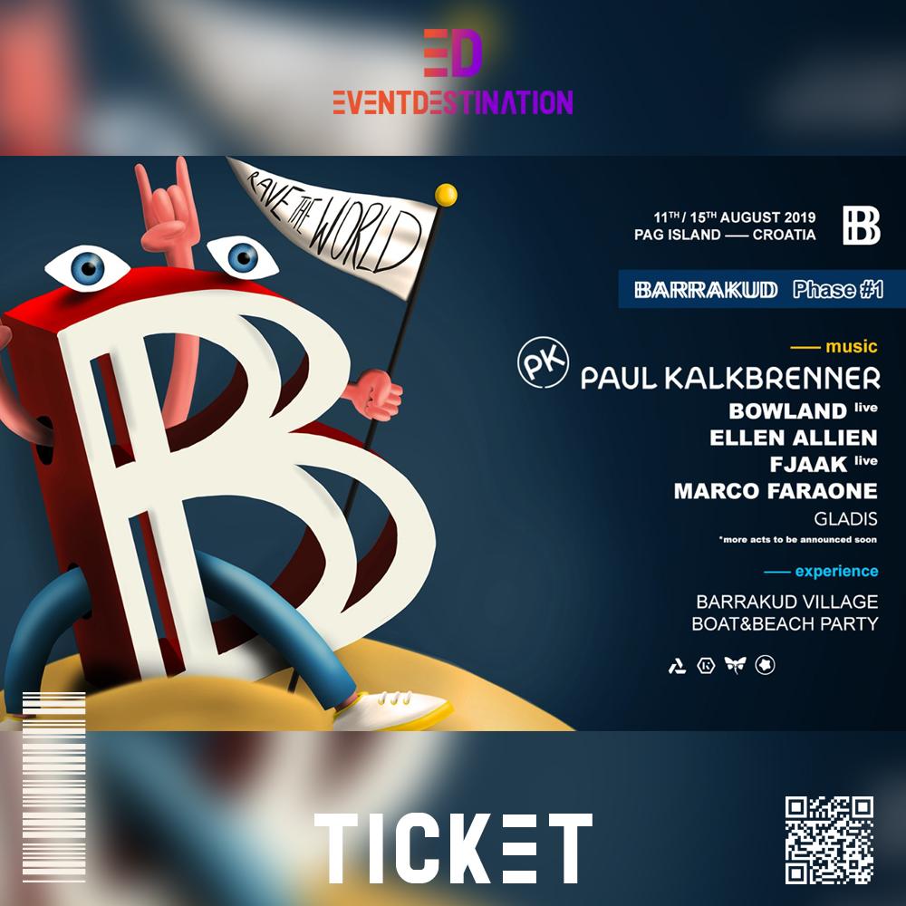 ticket BARRAKUD FESTIVAL