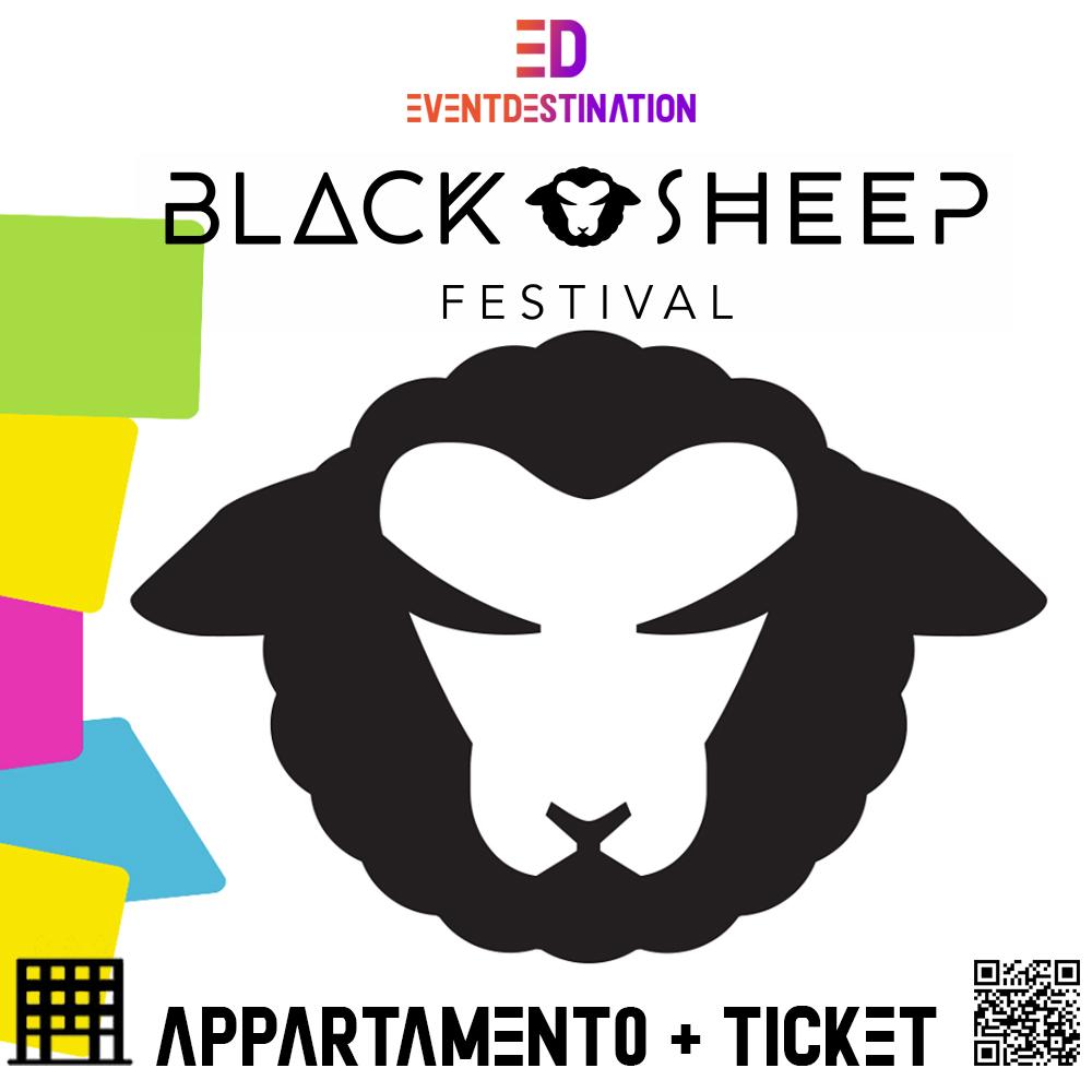 BLACK SHEEP FESTIVAL PAG CROAZIA PACCHETTI APPARTAMENTO + TICKET