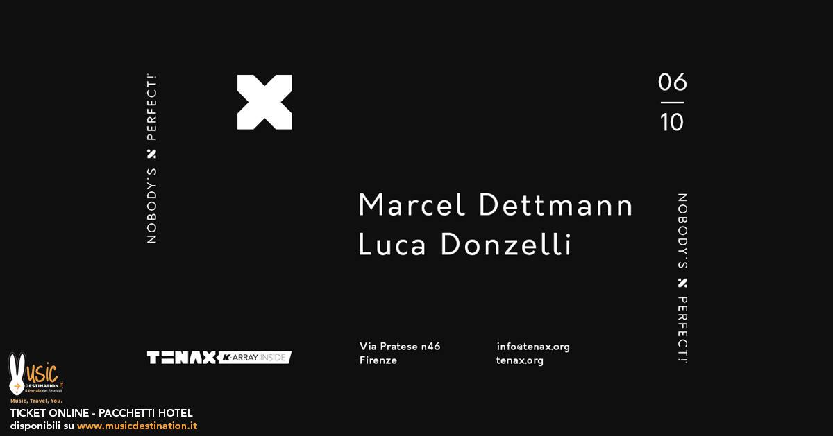 marcel dettmnann tenax firenze 06 ottobre 2018 ticket pacchetti hotel