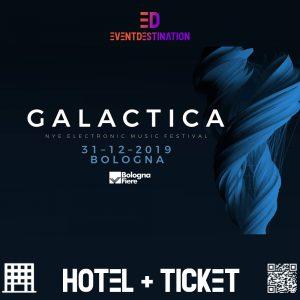 Galactica Nye Festival – Pacchetti Hotel + Ticket