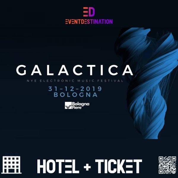 PACCHETTI HOTEL GALACTICA NYE FESTIVAL