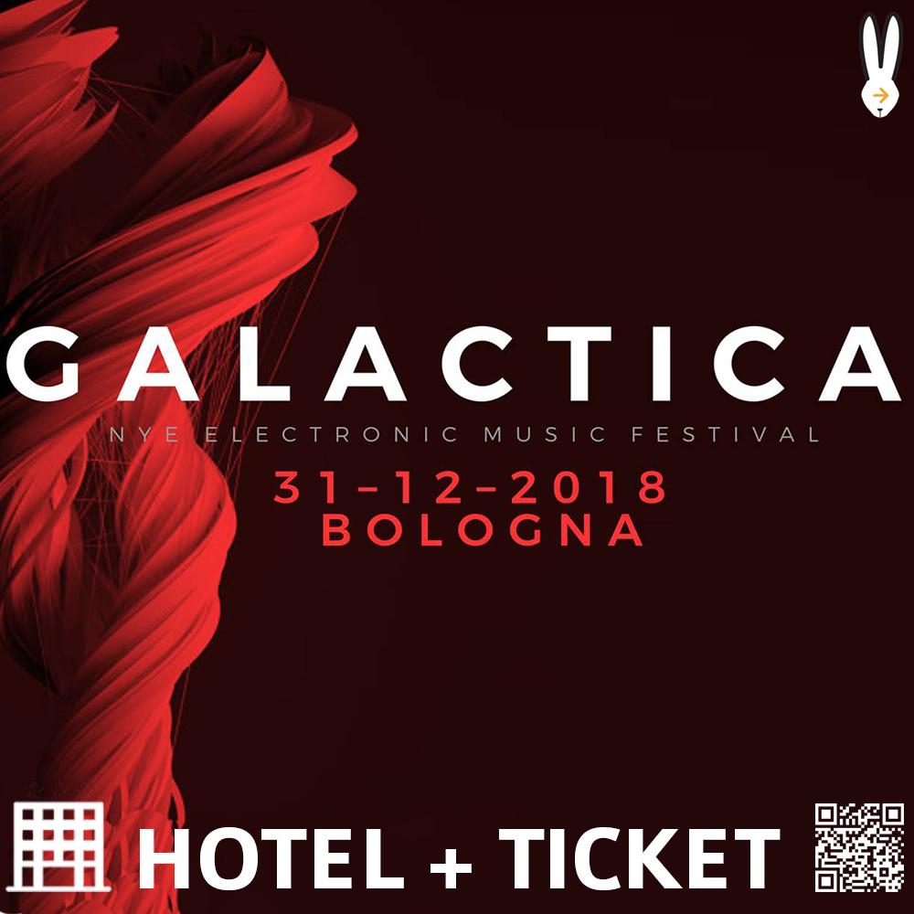 PACCHETTI HOTEL GALACTICA NYE FESTIVAL BOLOGNA