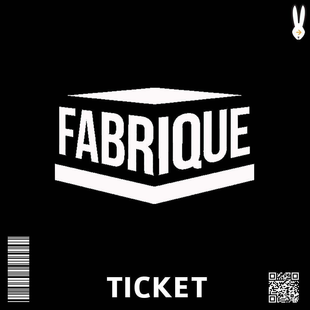 Ticket Fabrique Milano