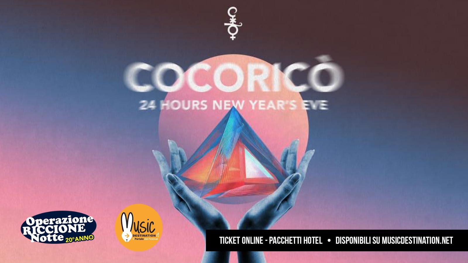 Il Cocoricò a Capodanno esagera e….dà i numeri, 30 DJ e 24 ore!
