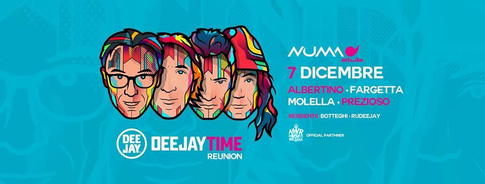 DeejayTime Reunion @ Numa Bologna – 07 Dicembre 2018 – Ticket Pacchetti Hotel