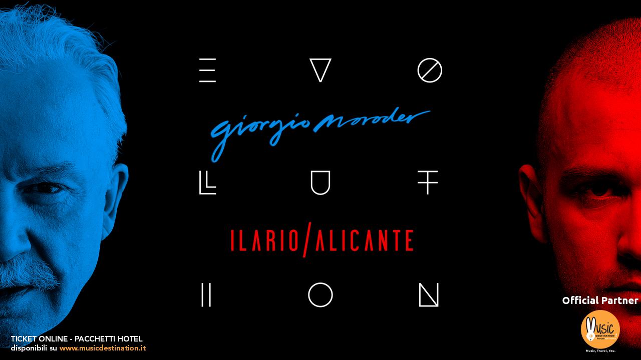 Giorgio Moroder e Ilario Alicante Evolution @ RDS Stadium Rimini – 05 Gennaio 2019