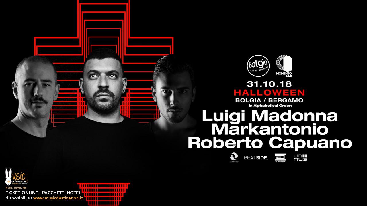Halloween 2018 @ Bolgia Bergamo – Luigi Madonna 31 Ottobre 2018 – Ticket – Pacchetti Hotel
