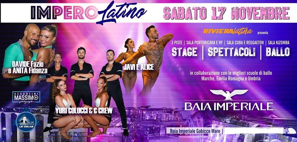 Impero Latino @ Baia Imperiale – 17 Novembre 2018