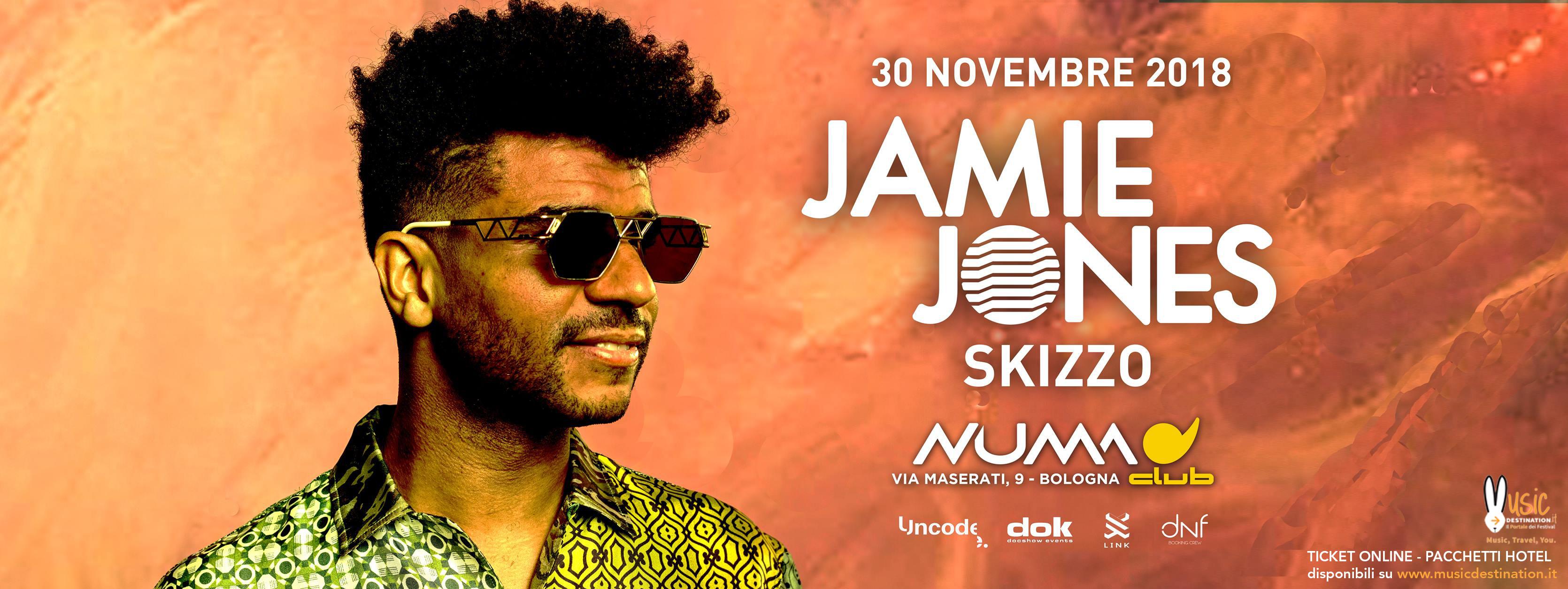 Jamie Jones @ Numa Bologna – 30 Novembre 2018 – Ticket Pacchetti Hotel
