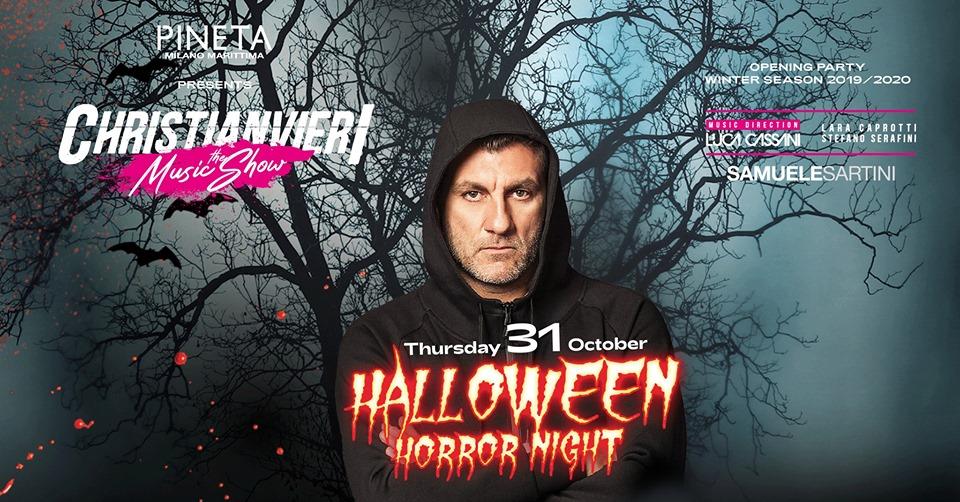 Christian Vieri @ Pineta Opening winter season- Halloween 31.10.2019