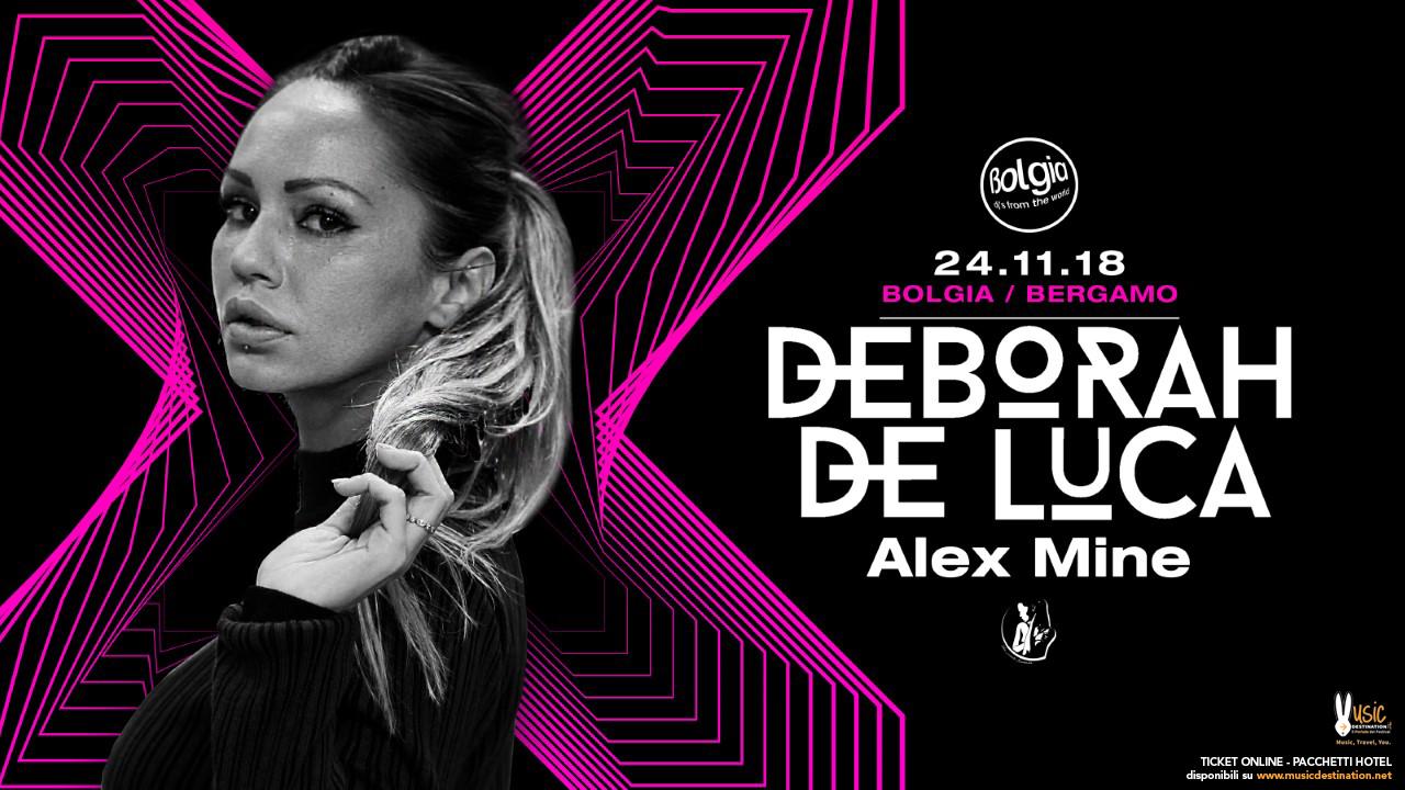 Deborah De Luca Bolgia Bergamo – Sabato 24 Novembre 2018 – Ticket – Pacchetti Hotel