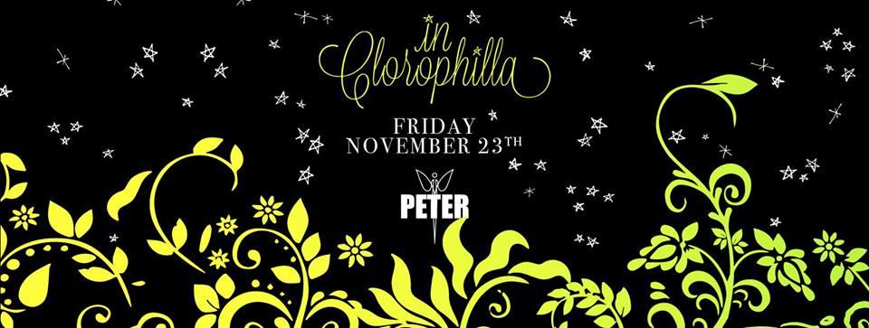 In Clorophilla @Peter Pan Riccione – Venerdi 23 Novembre 2018 – Ticket Pacchetti Hotel