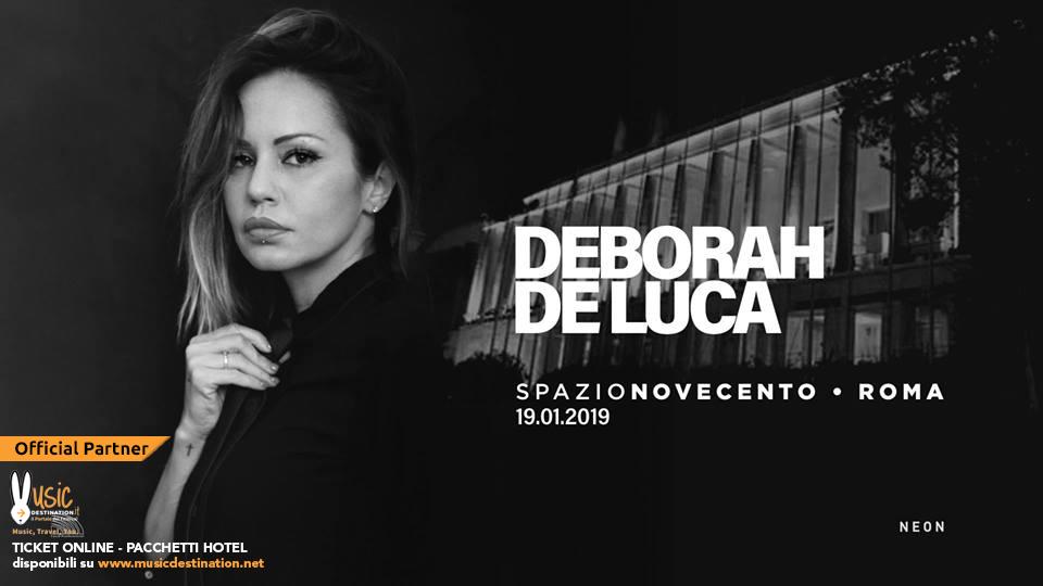 deborah de luca spazio novecento roma 19 gennaio 2019