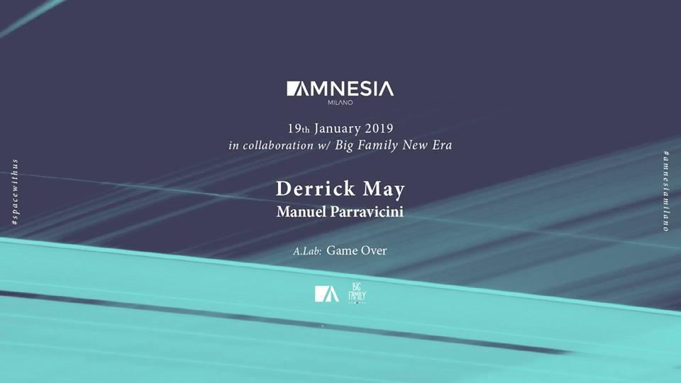 19 gennaio 2019 amnesia milano
