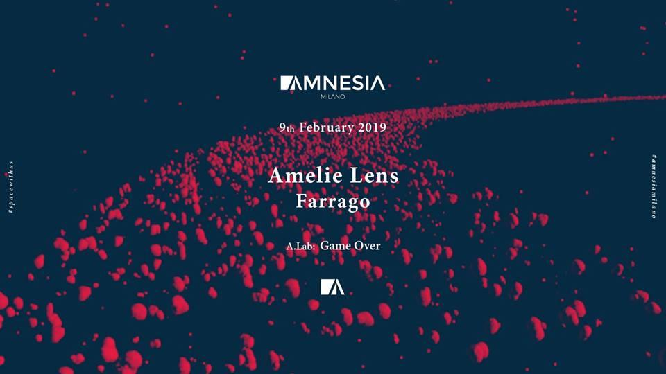 Amelie Lens @ Amnesia Milano – Sabato 9 Febbraio 2019 – Ticket e Pacchetti Hotel