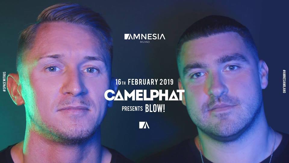Chamelphat @ Amnesia Milano – Sabato 16 Febbraio 2019 – Ticket e Pacchetti Hotel