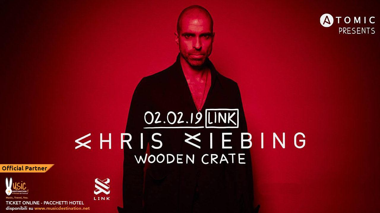 Chris Liebing @ Link Bologna – Sabato 02 Febbraio 2019 – Ticket e Pacchetti Hotel