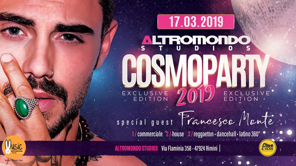 Altromondo Studios Cosmoprof Party – Domenica 17 Marzo 2019