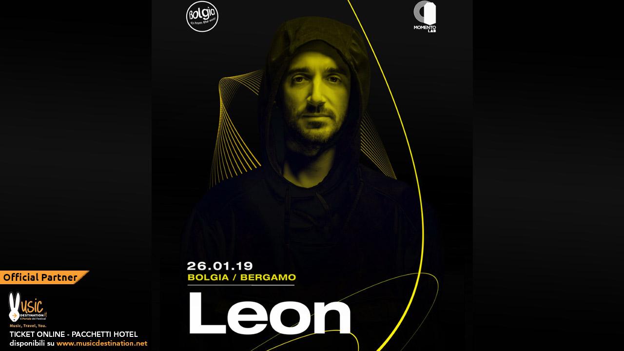 Leon al Bolgia Bergamo – Sabato 26 Gennaio 2019 – Ticket – Pacchetti Hotel