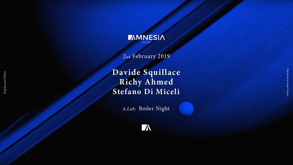 Davide Squillace @ Amnesia Milano – 2 Febbraio 2019 – Ticket e Pacchetti Hotel