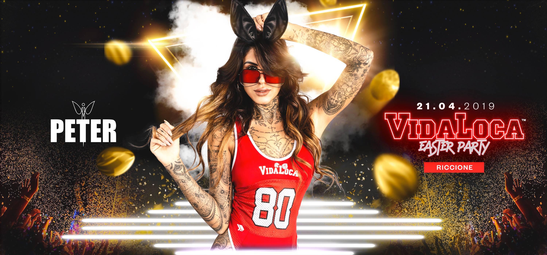 Pasqua 2019 Peter Pan Riccione Vida Loca Party – Domenica 21 Aprile 2019 – Ticket e Pacchetti Hotel