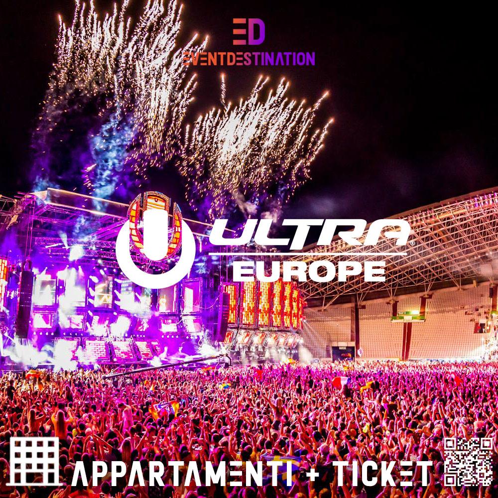 ULTRA EUROPE FESTIVAL APPARTAMENTI + TICKETS