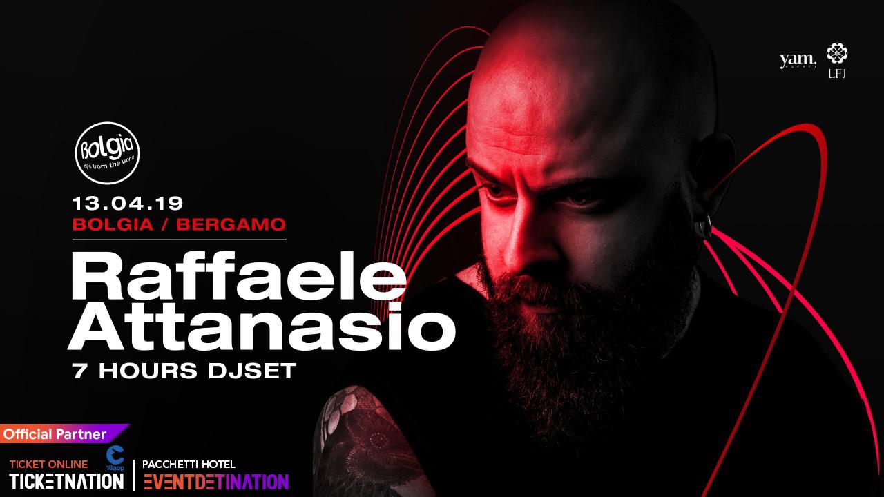 Raffaele Attanasio al Bolgia Bergamo – Sabato 13 Aprile 2019 – Ticket -Biglietti 18app – Pacchetti Hotel
