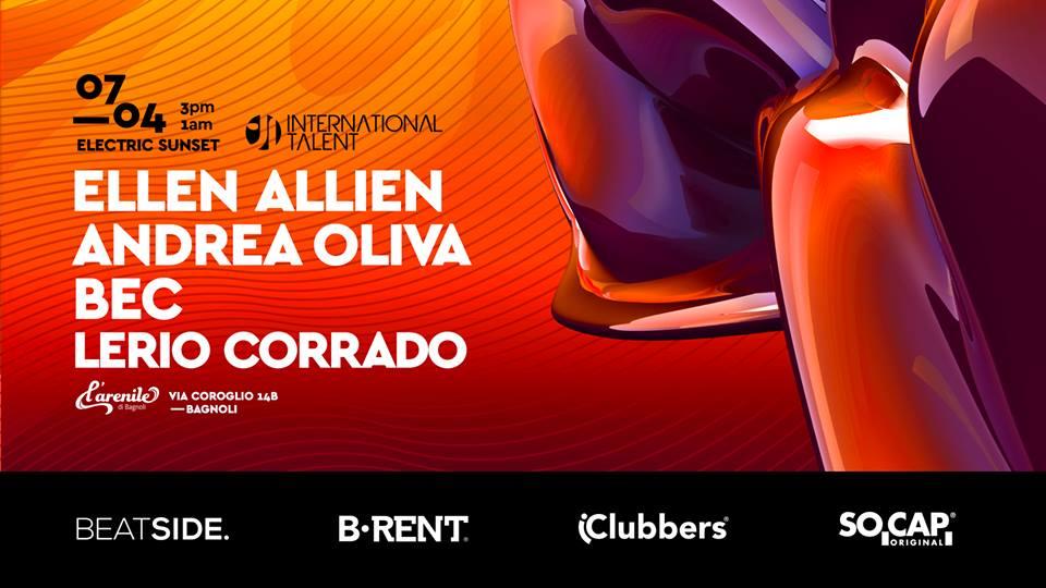 Ellen Allien Arenile di Bagnoli – 7 Aprile 2019 – Ticket Biglietti 18App Tavoli e Pacchetti Hotel