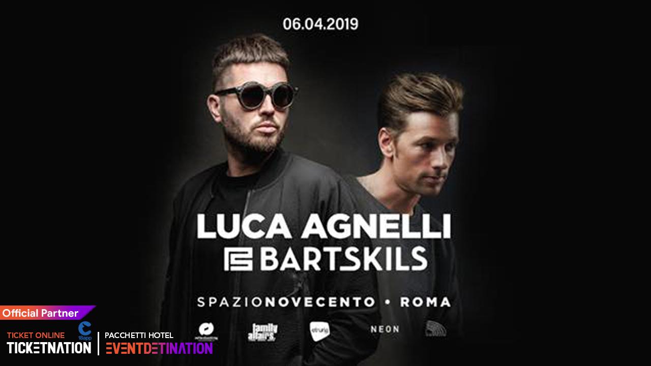 LUCA AGNELLI @ Spazio Novecento Roma – 06 APRILE 2019 – Ticket Biglietti 18App Tavoli e Pacchetti Hotel
