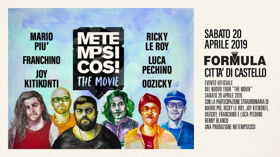 Metempsicosi at Formula Disco SABATO 20 Aprile 2019 – Ticket e Pacchetti Hotel