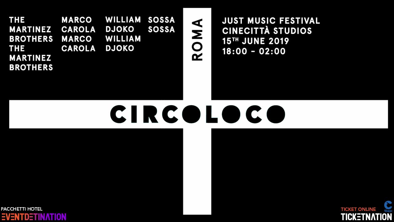 circoloco roma jusm music festival ticket e pacchetti hotel