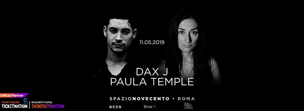 Dax J @ Spazio Novecento Roma – 11 Maggio 2019 – Ticket Biglietti 18App Tavoli e Pacchetti Hotel