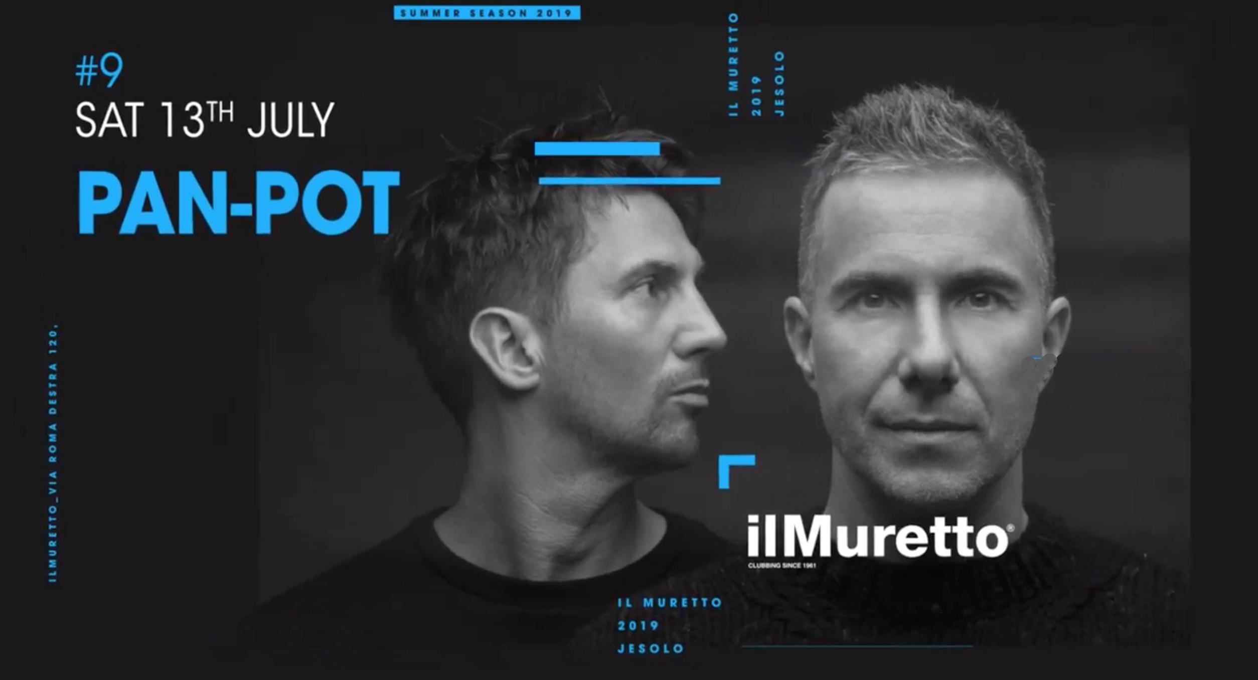 Pan Pot @ Il Muretto Jesolo 13 Luglio 2019